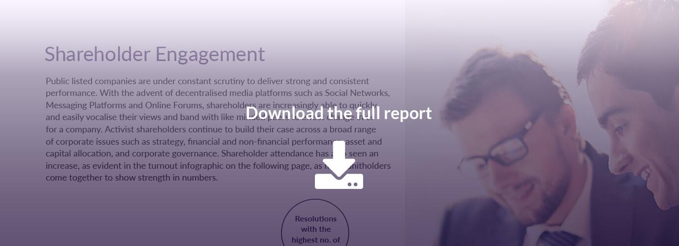 AGM Shareholder Engagement